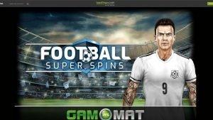 Football Super Spins header