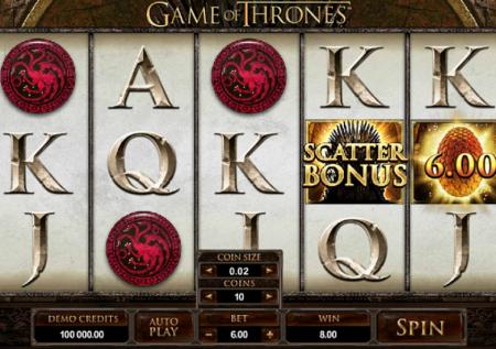 Slotinfos: Game of Thrones